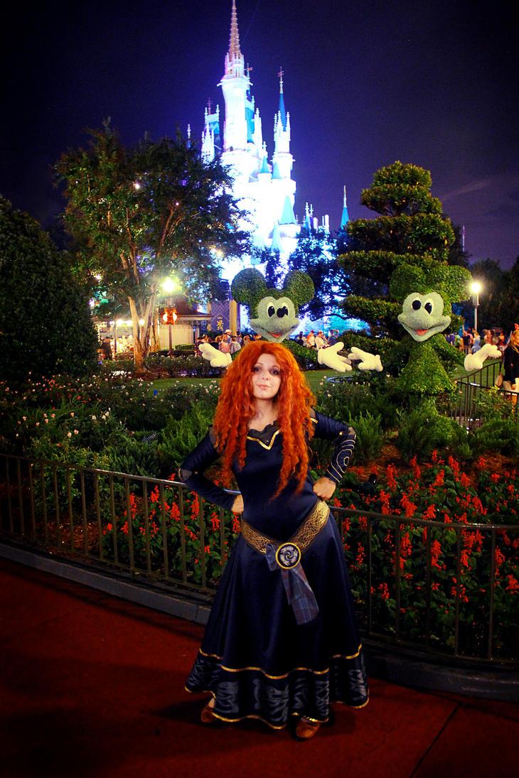 Merida at Magic Kingdom! by Thecrystalshoe