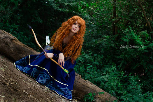 Merida Cosplay - Into the open air