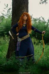 Merida Cosplay - Epilogue dress