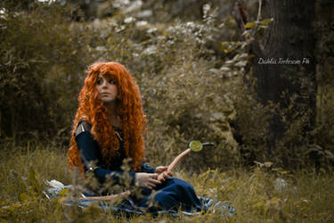 Merida Cosplay - Touch the sky by Thecrystalshoe