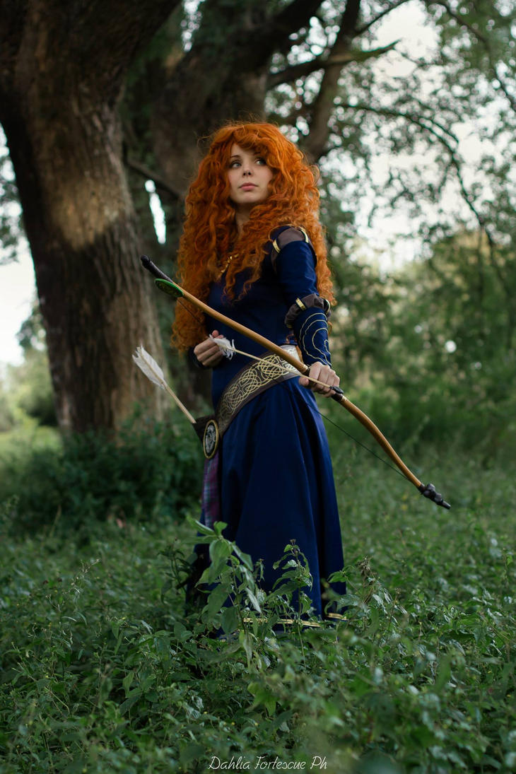 Merida Cosplay - We'll be free by Thecrystalshoe
