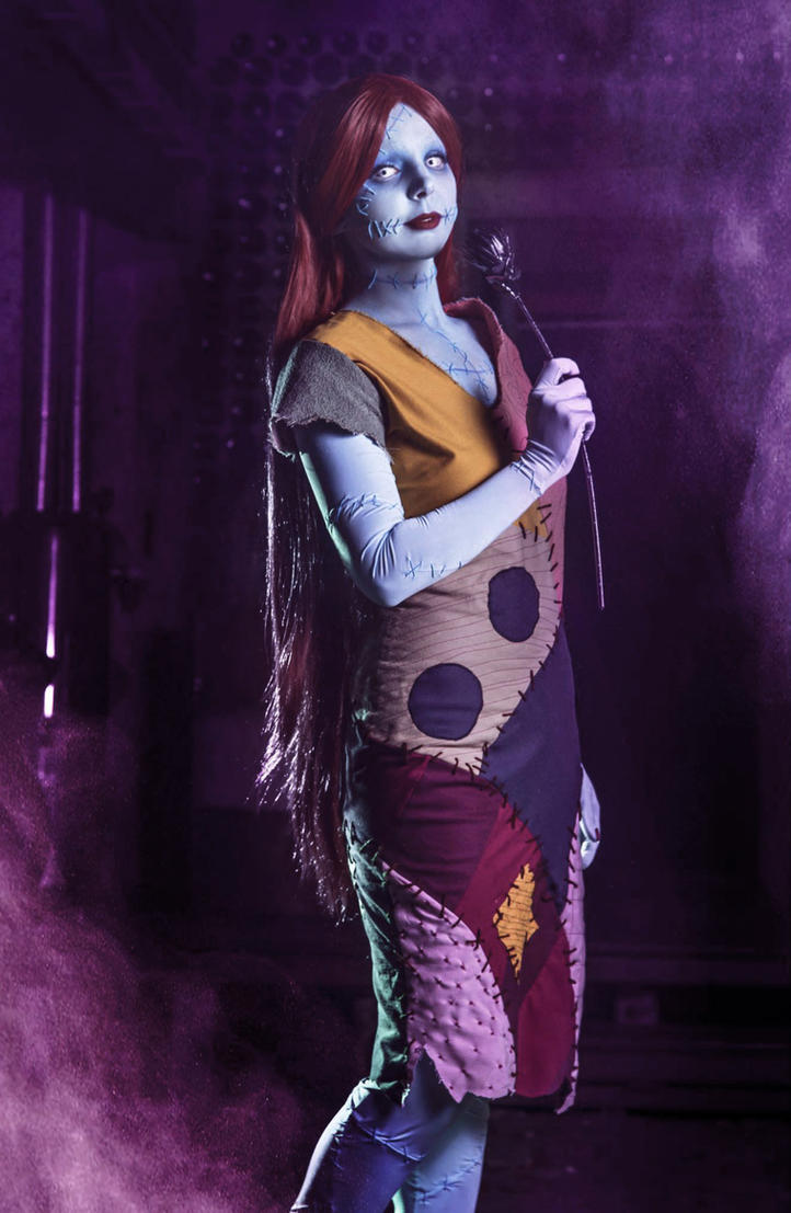 The nightmare before christmas : Sally Cosplay by Thecrystalshoe