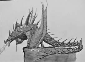 How To Train Your Dragon: Skrill by AcroSauroTaurus