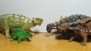 Ankylosaurs of my Collection 5