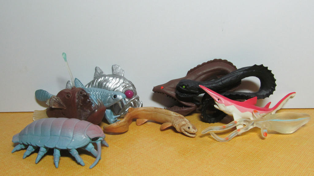 Goblin Shark Toys : Deep sea fish page animal toy forum