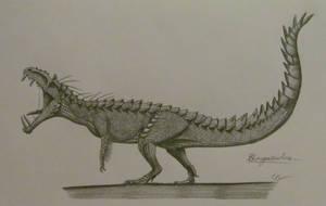 Jurassic World Hybrids: Gorgosuchus by AcroSauroTaurus