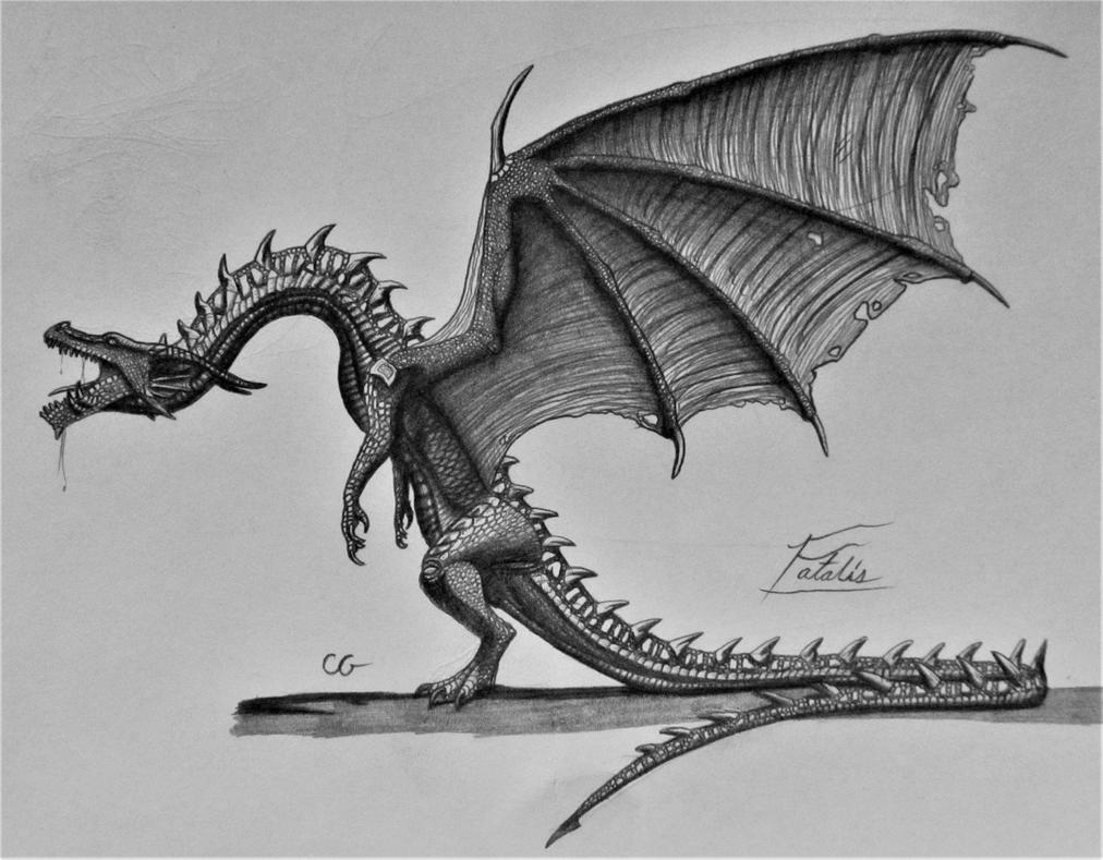 Monster Hunter: Fatalis by AcroSauroTaurus