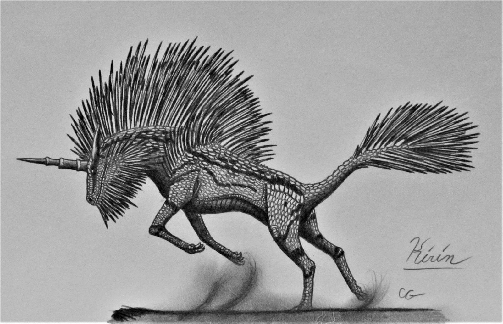 Monster Hunter: Kirin by AcroSauroTaurus