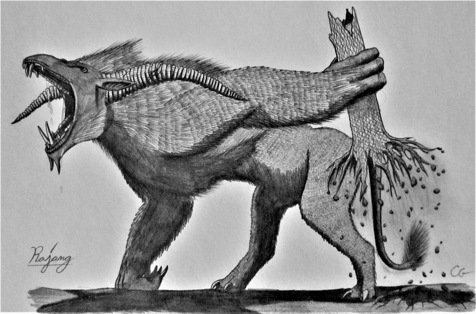 Monster hunter rajang by acrosaurotaurus on deviantart