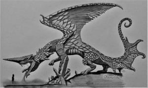 Monster Hunter 2: Chameleos by AcroSauroTaurus
