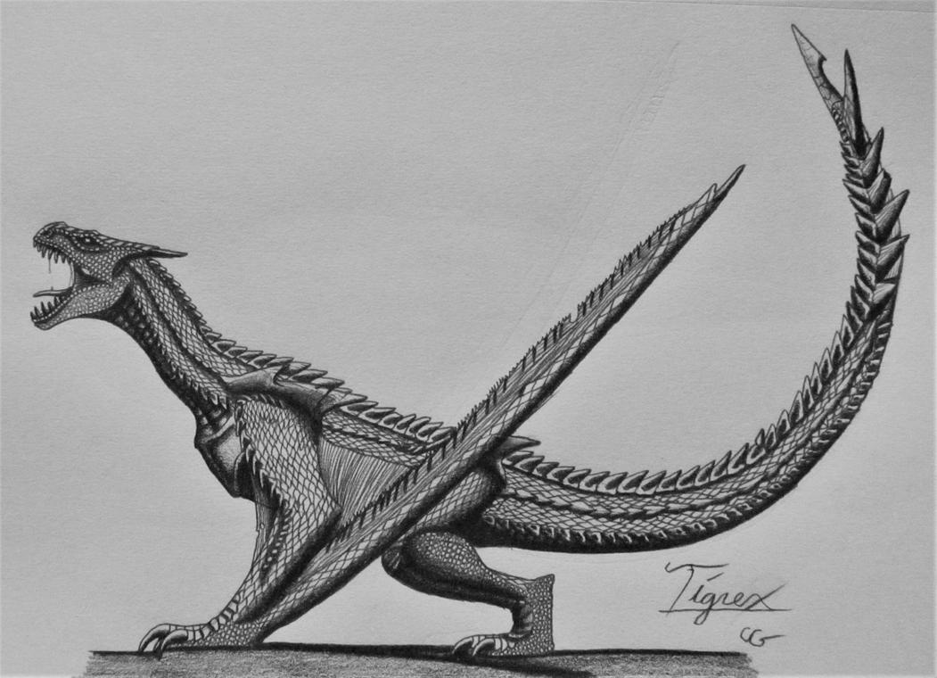 Monster hunter tigrex by acrosaurotaurus on deviantart