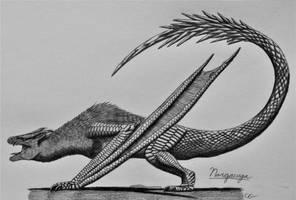 Monster Hunter 2: Nargacuga by AcroSauroTaurus