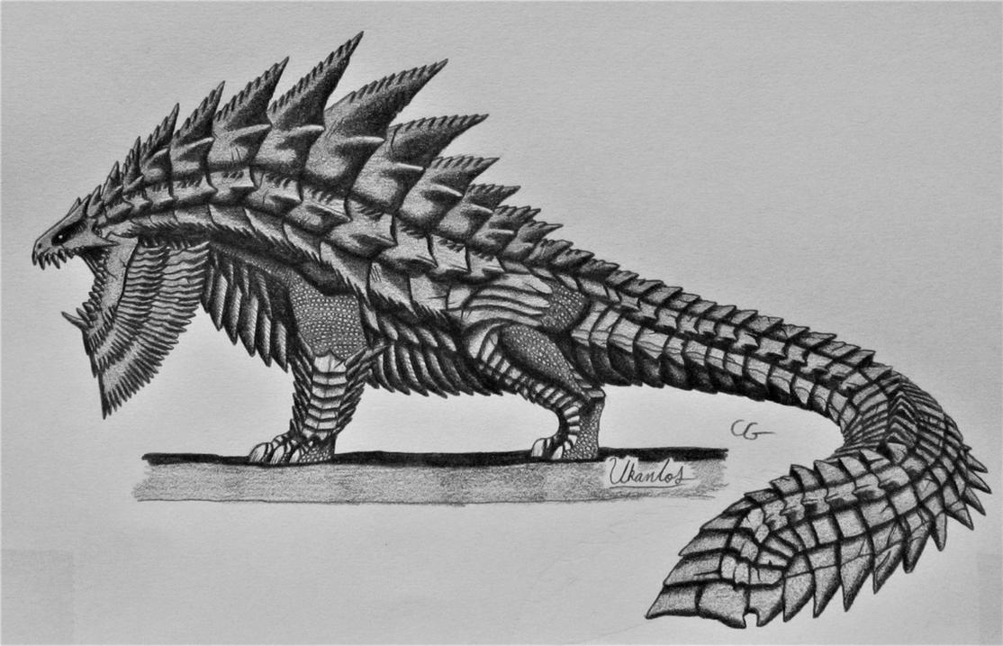 Monster Hunter 2: Ukanlos by AcroSauroTaurus