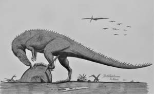 Poekilopleuron bucklandii by AcroSauroTaurus