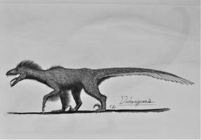 Jurassic Park Hybrids: Deinonycanis by AcroSauroTaurus