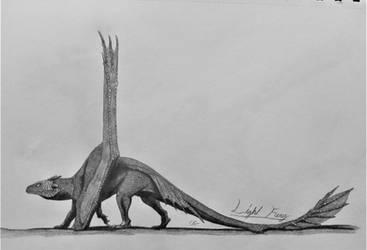 How To Train Your Dragon: Light Fury by AcroSauroTaurus
