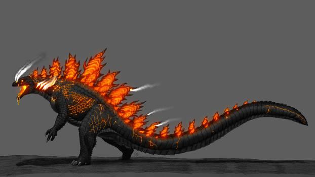 Kaijuverse: Burning Godzilla