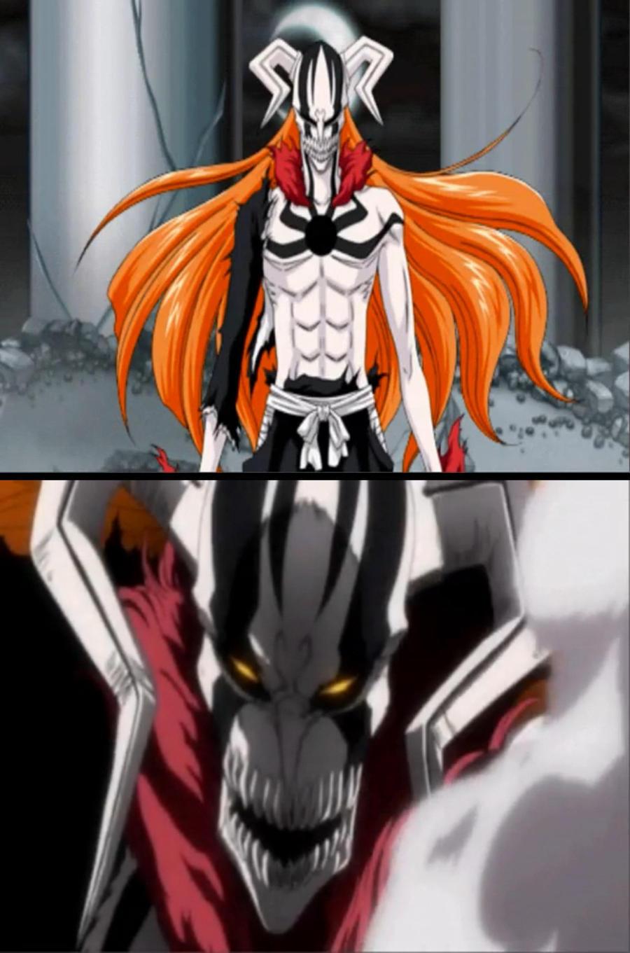 Hollow Ichigo full form by Abyss1 on DeviantArt