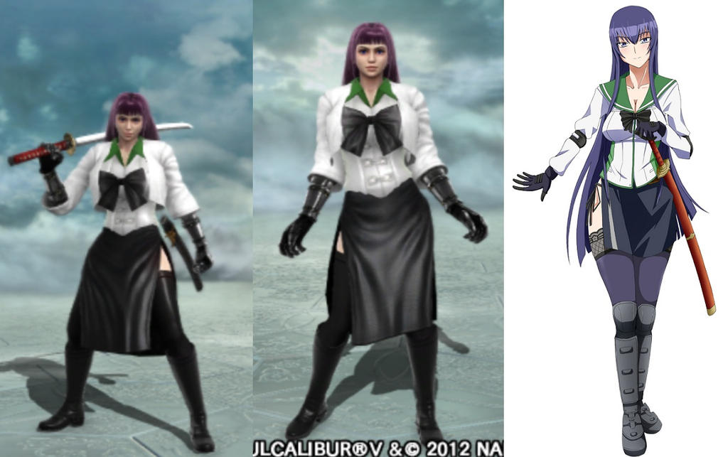 Soul Calibur V Anime Characters : Soul calibur v saeko busujima by abyss on deviantart