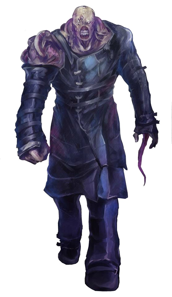 Resident Evil Nemesis Render By Abyss1 On Deviantart