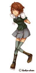 She's a maniac by Goku-chan