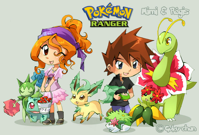 Pkmn Ranger : Mimi and Regis by Goku-chan