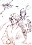 Luke . C3PO
