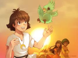 Children of the Sun... by Goku-chan