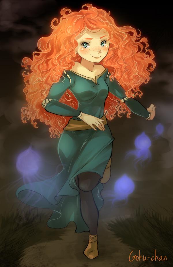 Brave : Merida by Goku-chan