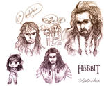 The Hobbit: some dwarfs doods