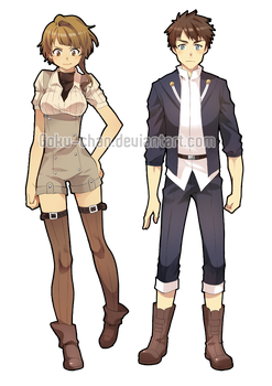 Ed+Maddy : Oneshot clothes