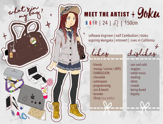 #MeetTheArtist Meme by Goku-chan