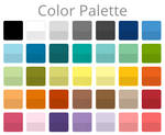 Color Palette (With Shades)