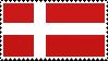 Danish flag | Stamp by Devonix
