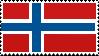 Norwegian flag | Stamp by Devonix