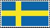 Swedish flag | Stamp by Devonix