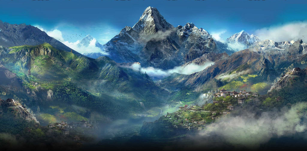 Far Cry 4 Mountains Wallpaper By Devonix On Deviantart