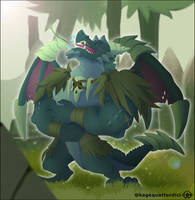 Dragon Bubba Rescued by KageQuattordici