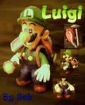 Luigi's Mansion Luigi Papercraft