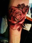 My rose tattoo