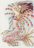 Lion Mermaid by waiting4mySunshine