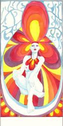 The High Priestess - Tarot by waiting4mySunshine