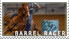 Barrel Racer Stamp by magickrae