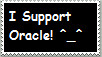 I Support Oracle stamp by TheOracleDragon