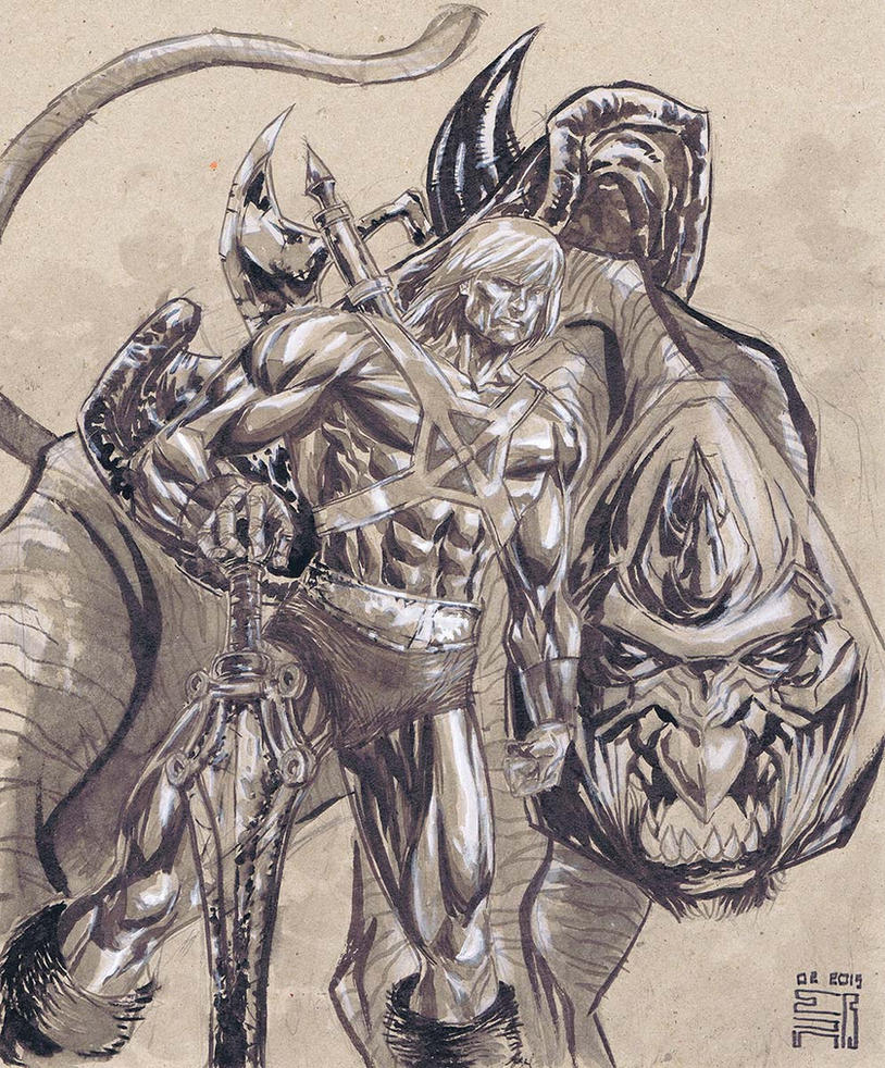 He-man by agussumantri
