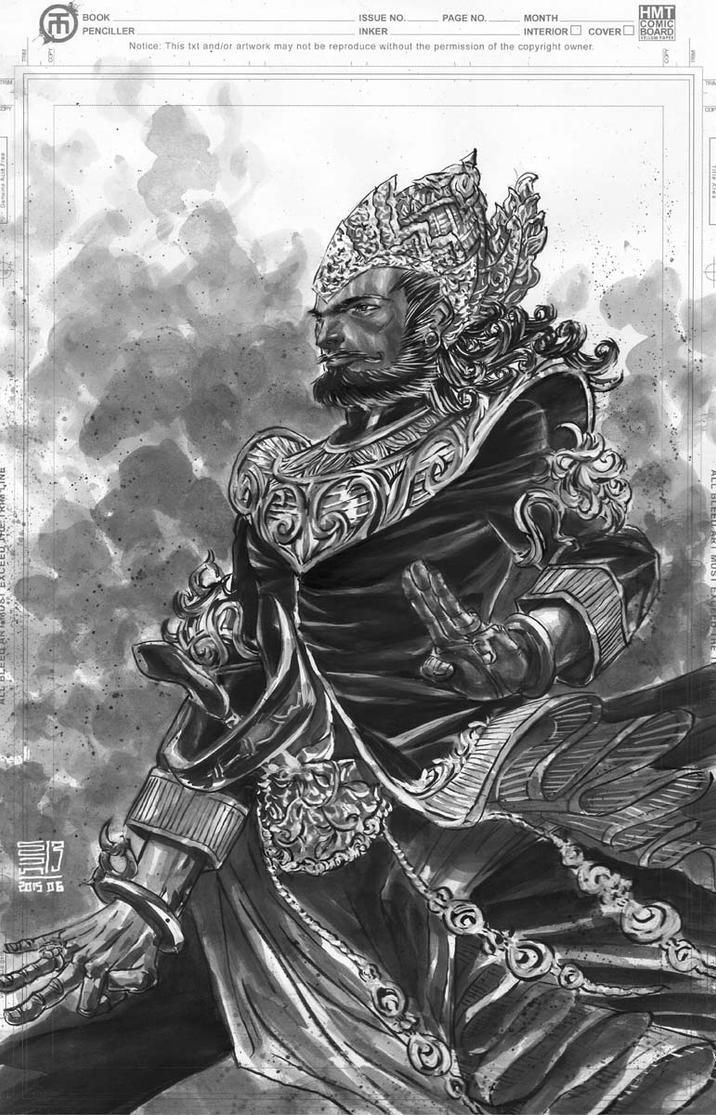 Bhatara Surya by agussumantri
