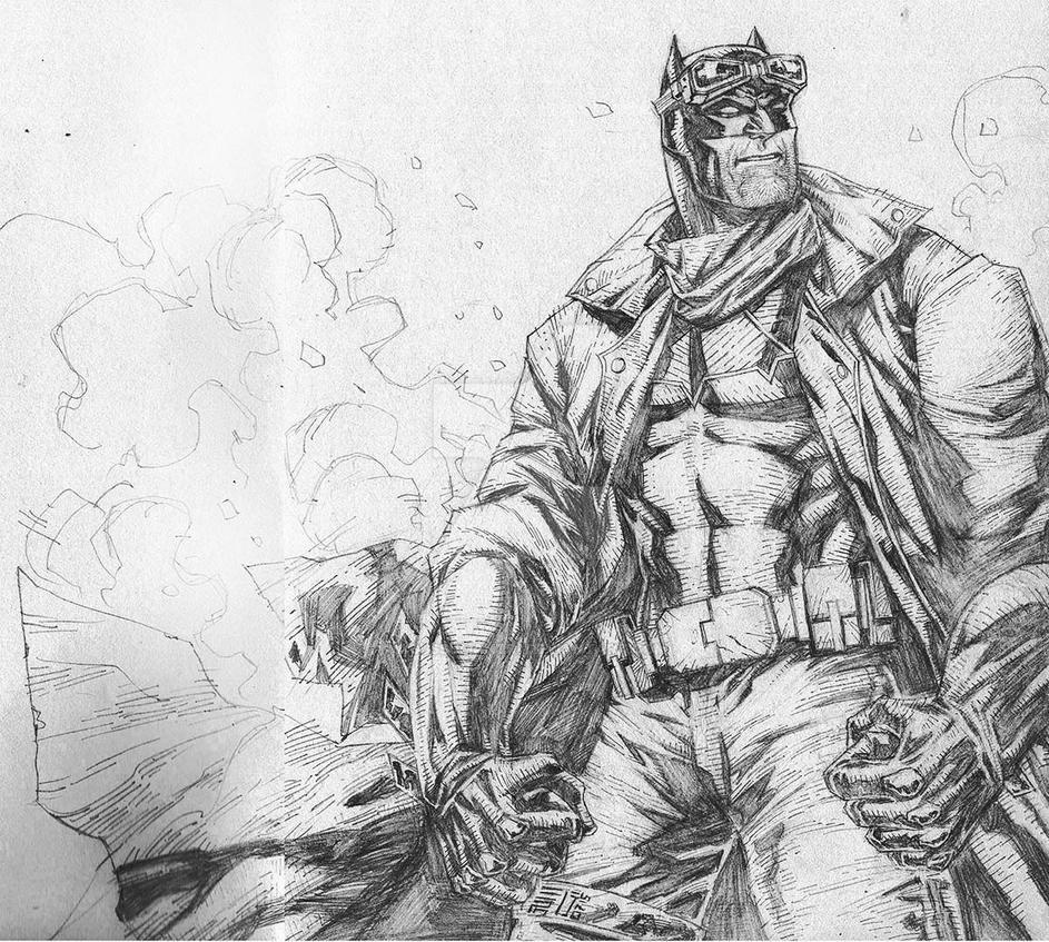Batman with Goggles by agussumantri