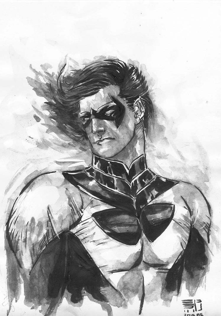 Nightwing by agussumantri