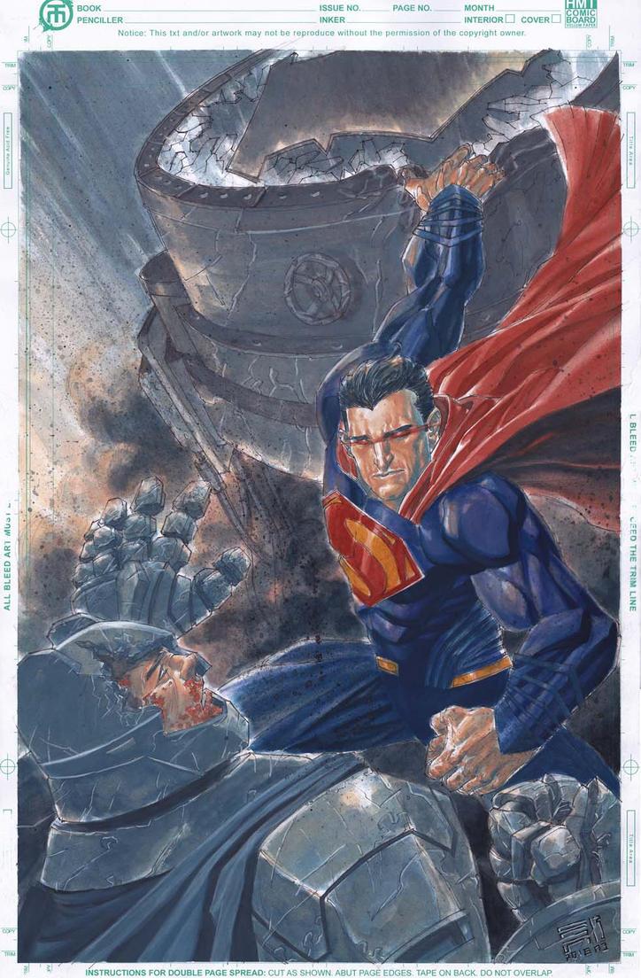 batman vs superman by agussumantri