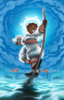 TOQU'S CHILLY TUNDRA {with video}